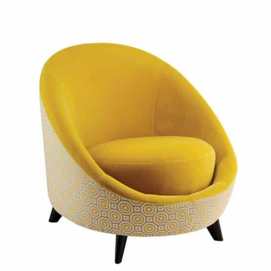 Aceray Duo30E lounge chair profile view