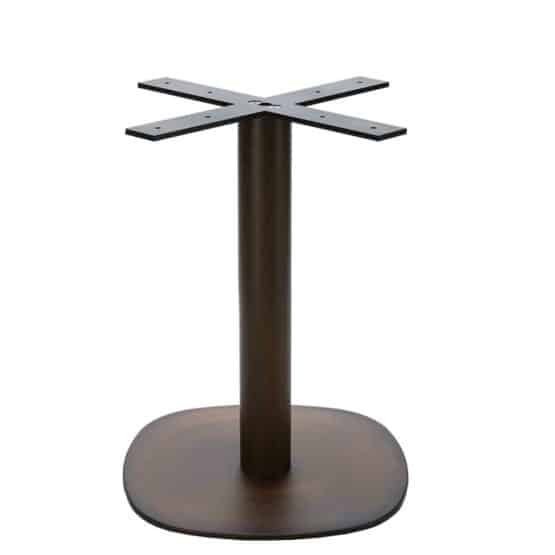 Aceray Arena-D dining height table aged brass