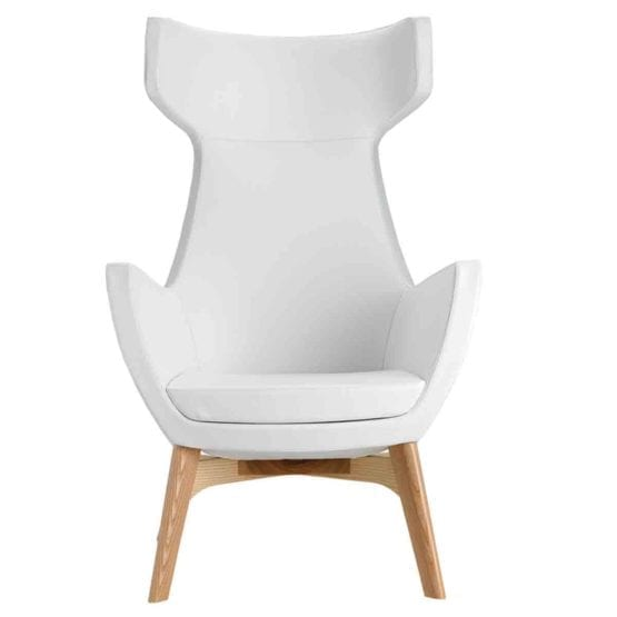 Aceray Diva-HBW high back armchair front view