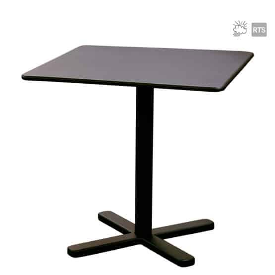 The Aceray Lido-8 indoor/outdoor tilt table in black