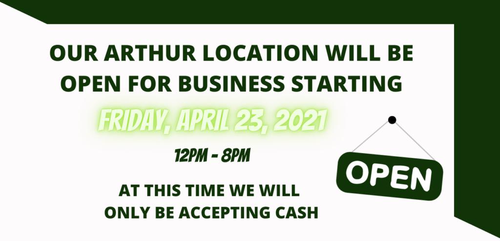 Arthur Location Open