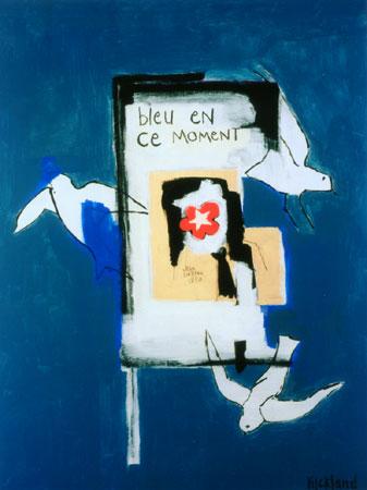 BLEU EN CE MOMENTE (sold)-36x48-Acrlic on Canvas (SOLD)