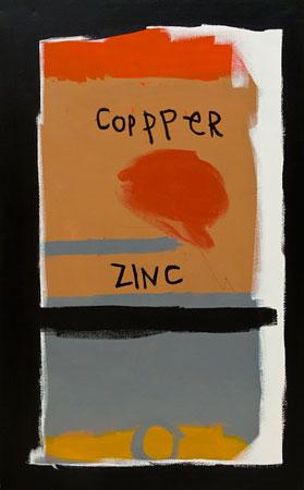 COPPER ZINC-30x48-Acrylic on Canvas