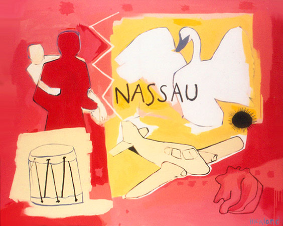 GOING HOME NASSAU-48x60-Acrylic on Canvas