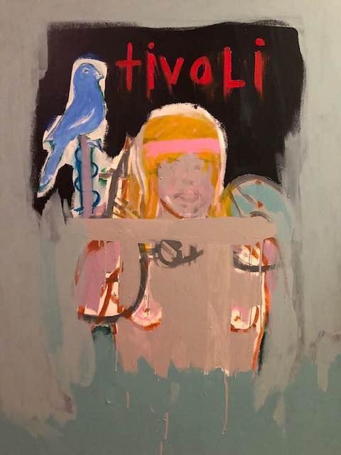 """Revelation"" (Copenhagen) 48x60 acrylic and oil canvas."