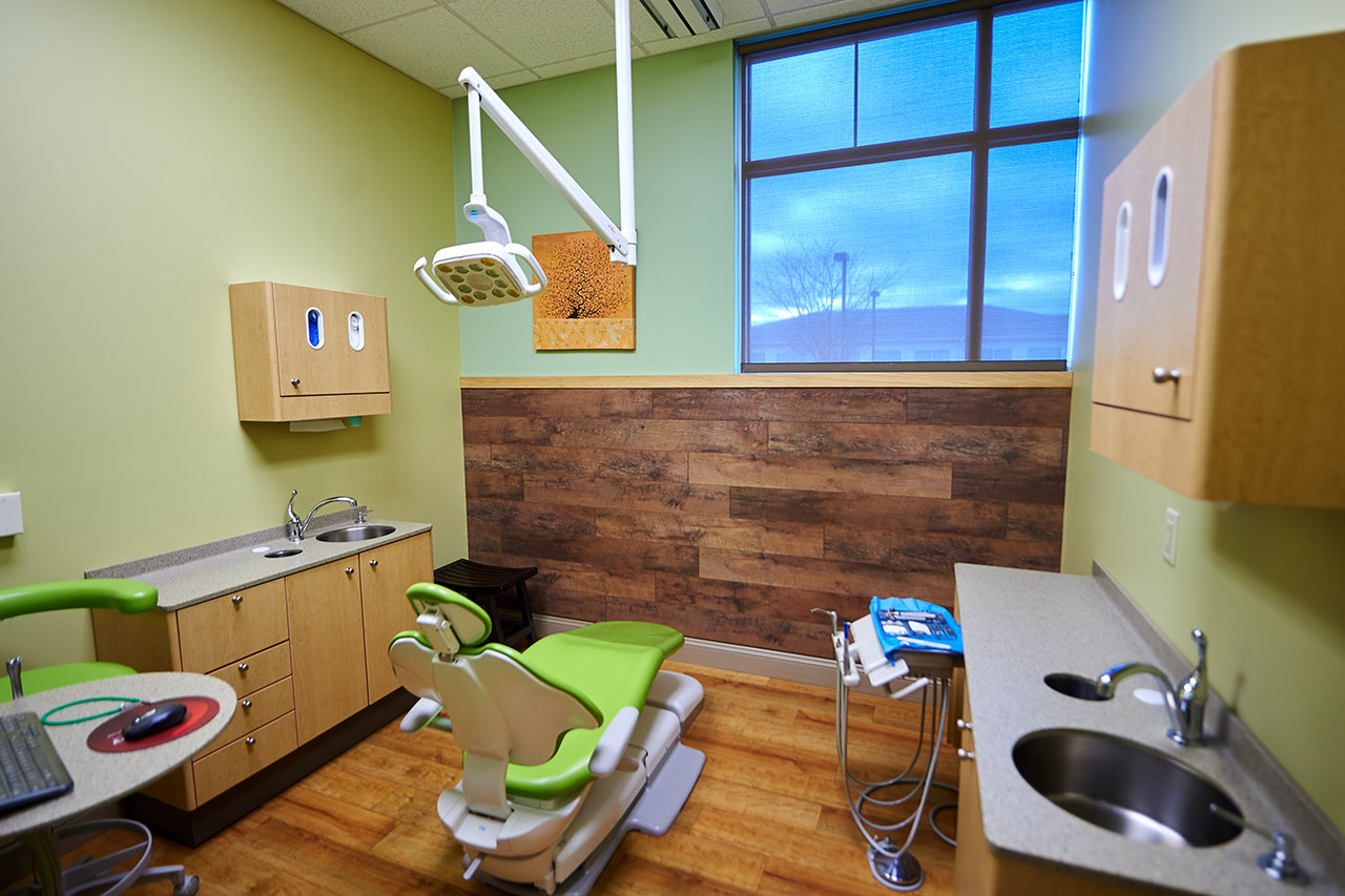 Private Room for Children's Dentist Consultation