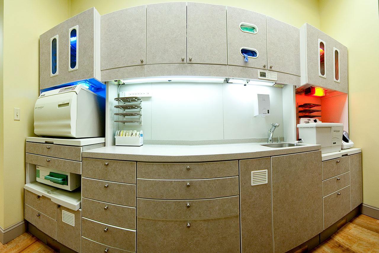 Children's Dentist Equipment Room