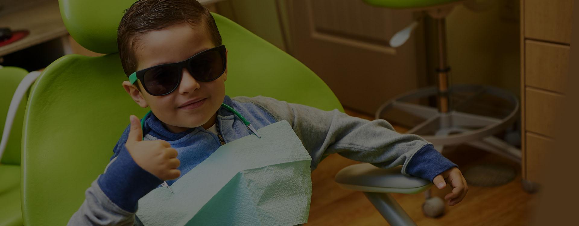 Happy Kid Dentist Visit