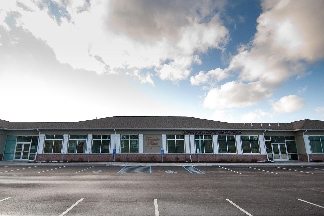 Newington Children's Dentistry Office building