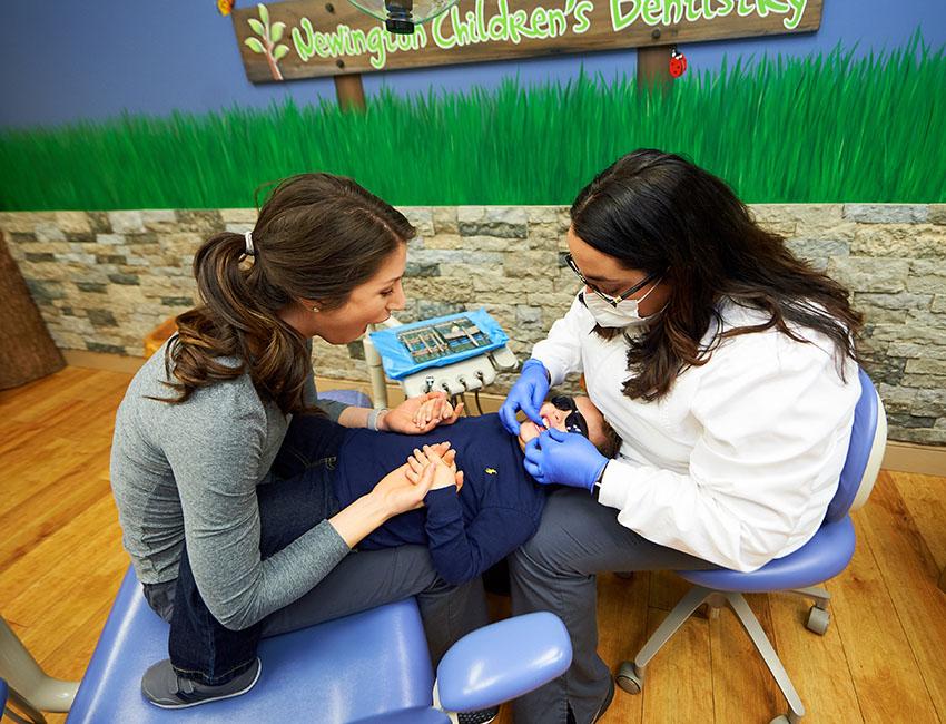 Knee to Knee Technique for Children's Dentist