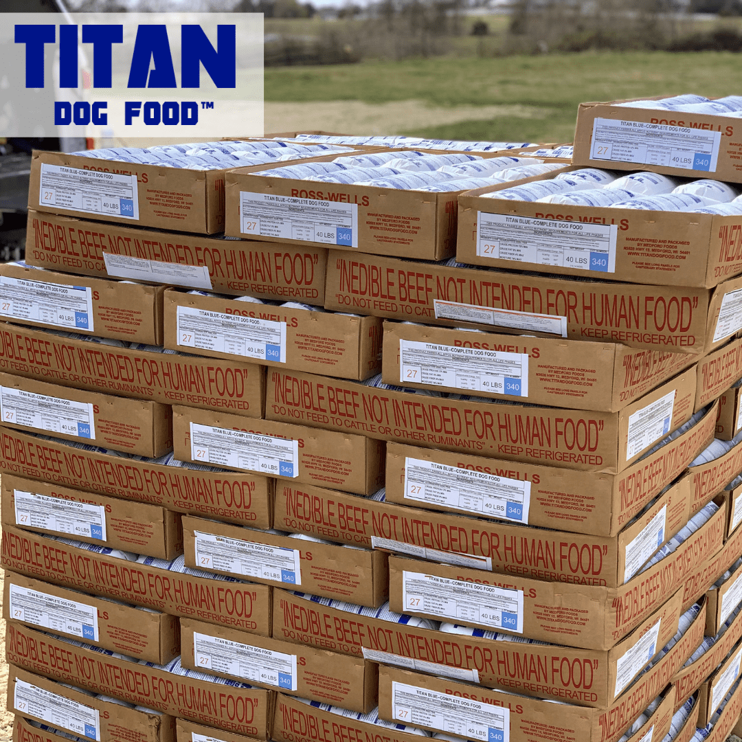 Titan Blue - Delivery Page