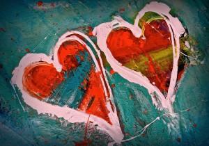 OCEANS OF LOVE Acrylic on canvas 100cm x 80cm SOLD $2000