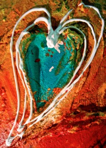 TURQUOISE HEART SOLD