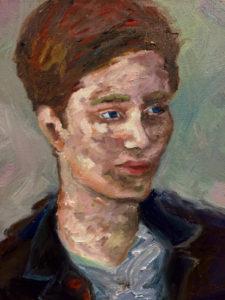 BLAIR 30 x 30cm Oil on Canvas