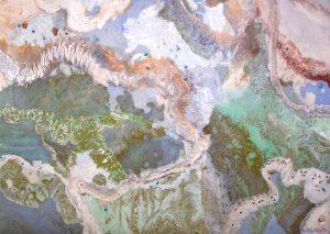 Aerial Dreams 122cm x 88cm Oil on canvas SOLD