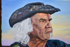 Marbk Close up 95cm x 75cm Oil on canvas $2500