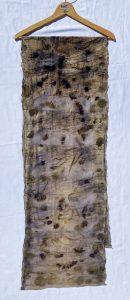 Gumnut Haze Fabric: Eco-dye on wool and cotton blend Length: 200cm Price: $345