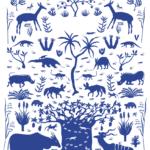 Savannah Woodland Environment Print
