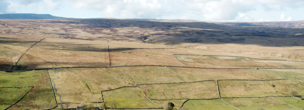North Pennines in England