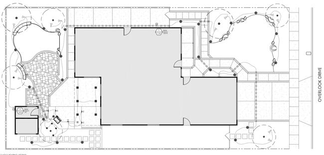 landscape lighting layout design