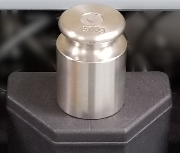 Easy calibration of load cell