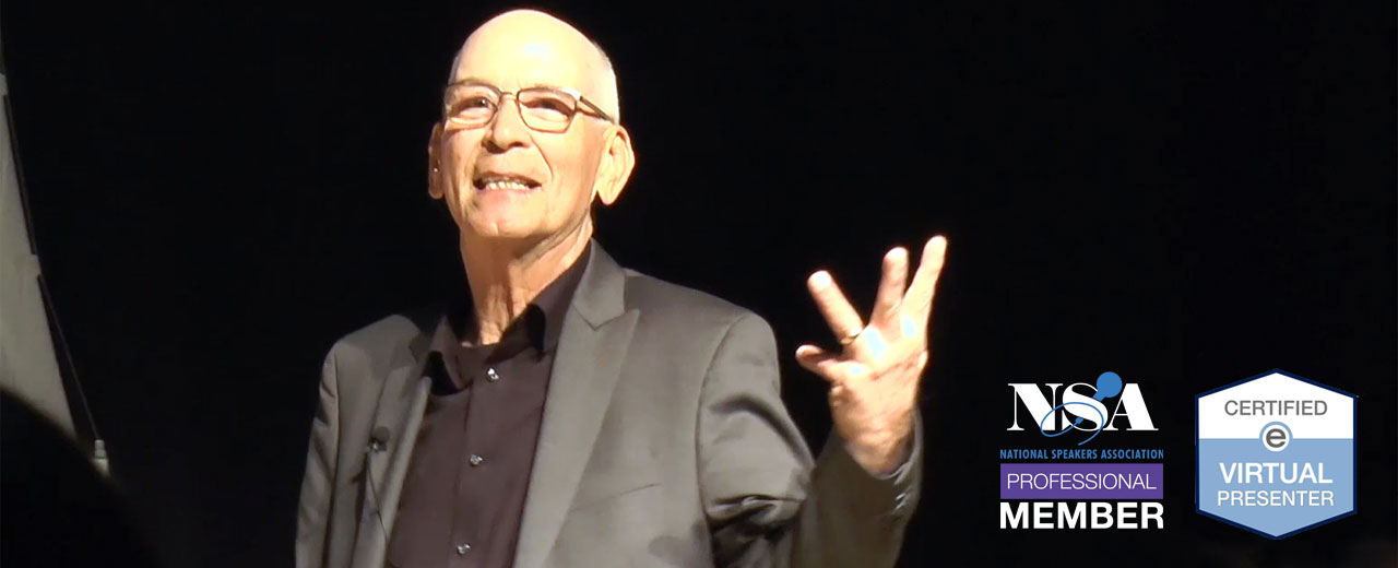 Ron Ruth is a keynote speaker for meetings, conferences and workshops throughout the U. S.