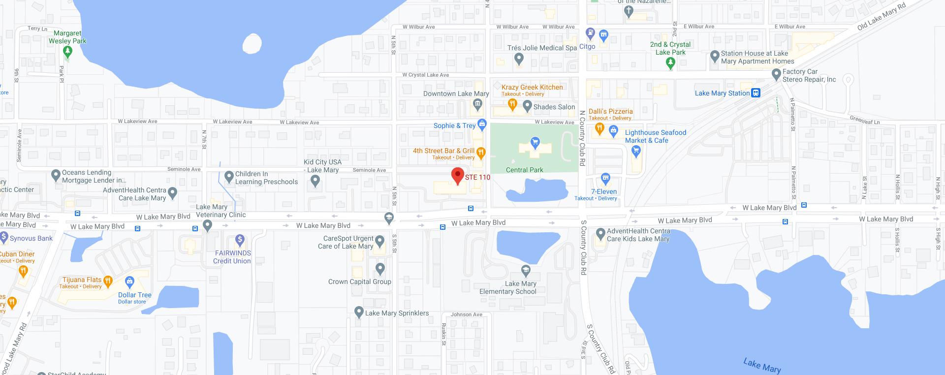 Lake Mary, FL Location