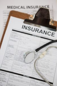 Insurance Medical Claims clipboard