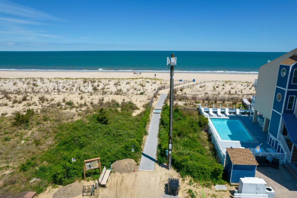 dewey beach 5G tower 17