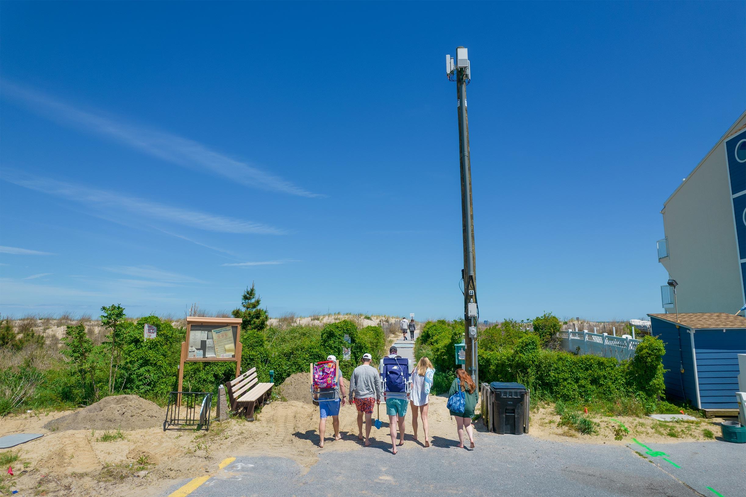 dewey beach 5G tower 9