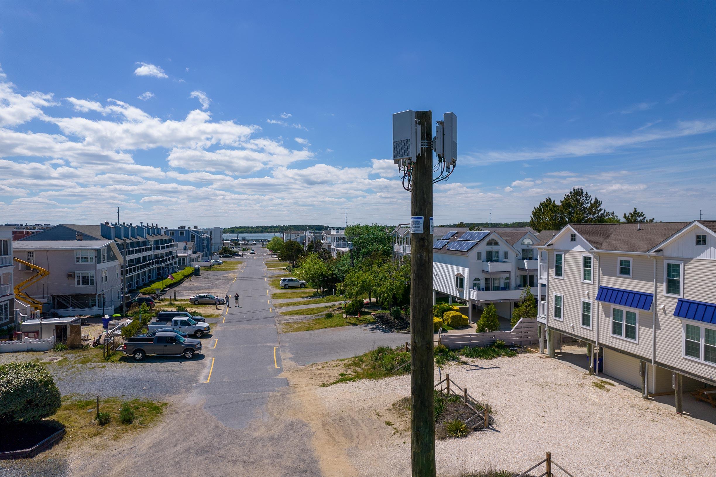 dewey beach 5G tower