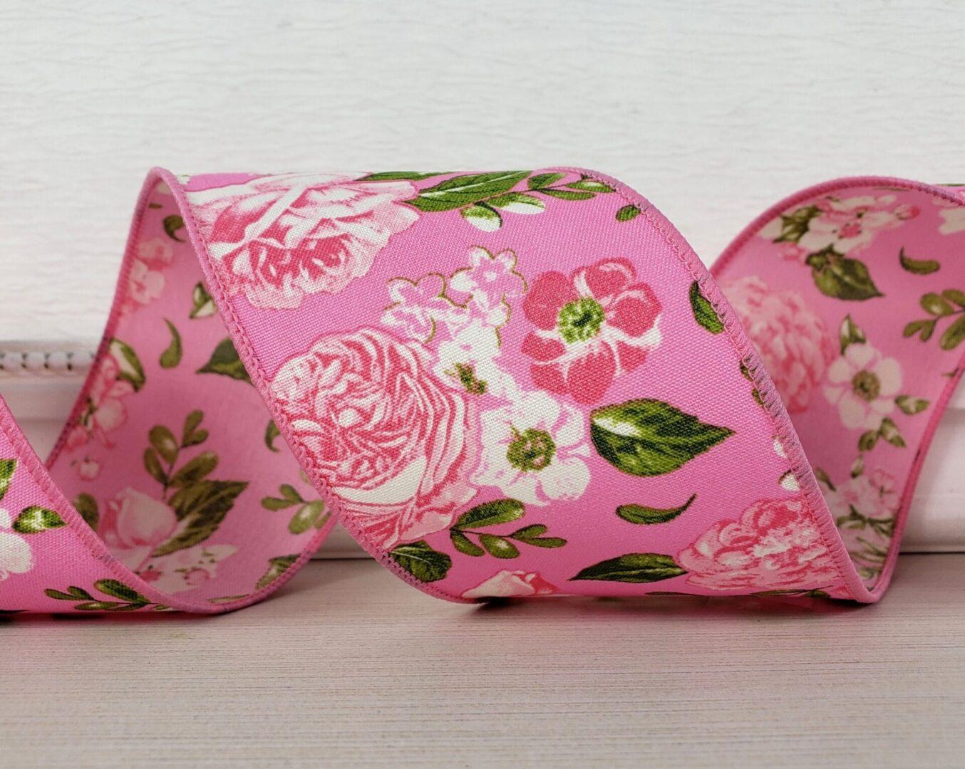 Rose garden Pink Pink Floral-001