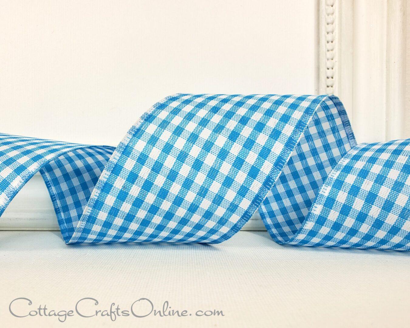 blue gingham cb 40-012