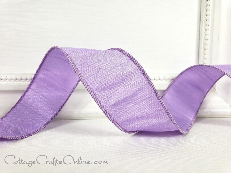 lavender faux dupioni cb 9-004