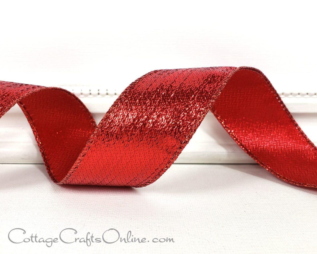 red valentine metallic stripe 9 cb-002