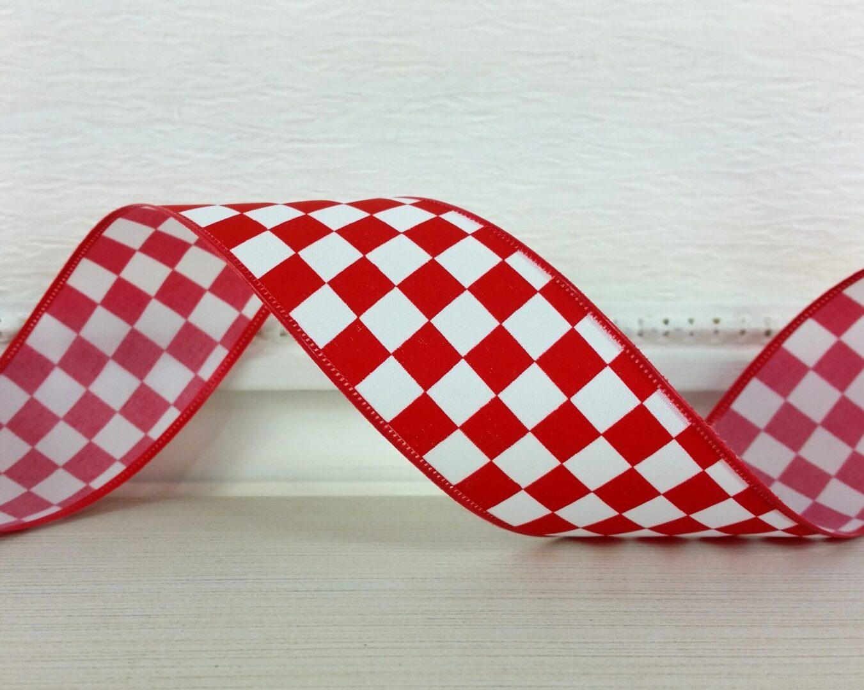 red white mini check 9 cb-013