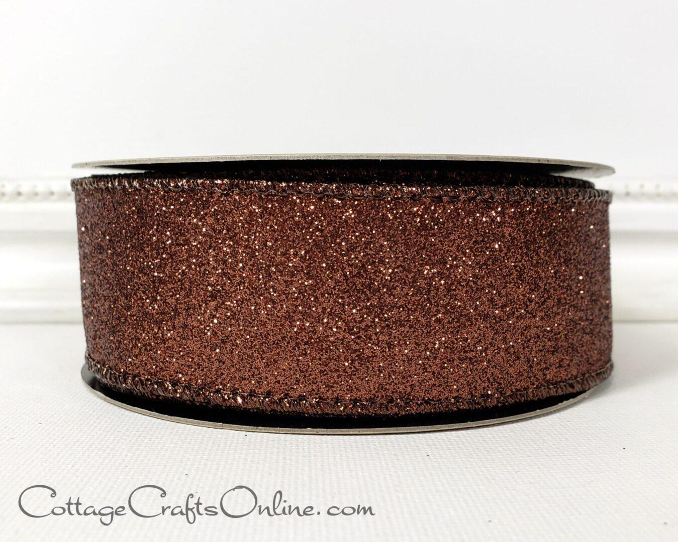 vintage brown glitter 9 ds-003
