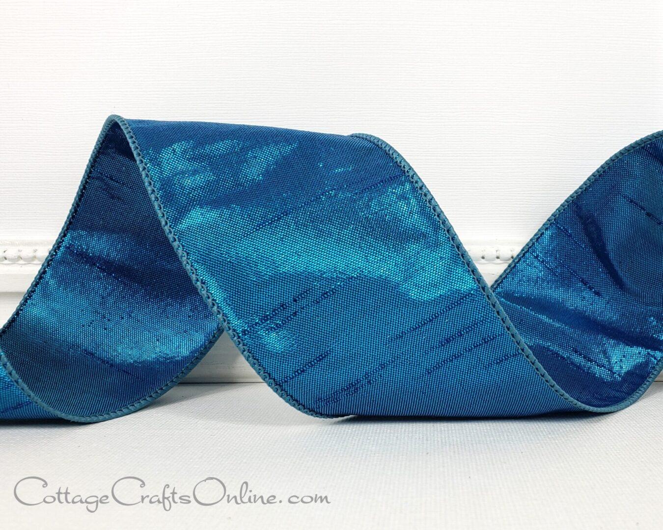 blue teal keeva metallic faux dupioni 40 ol-005