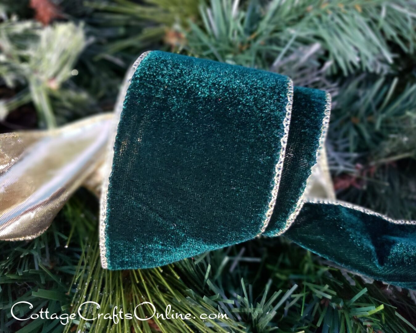 vallise velvet forest green ol-008