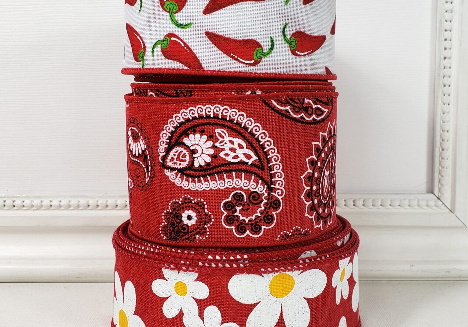 bold bandana red combo daisy spicy pepper-001