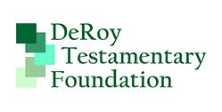 Logo for DeRoy Testamentary Foundation