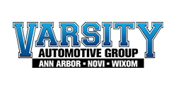 Logo for Varsity Automotive Group: Ann Arbor, Novi, Wixom