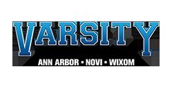 Logo for Varsity Automotive Group: Ann Arbor, Novi, Wixom