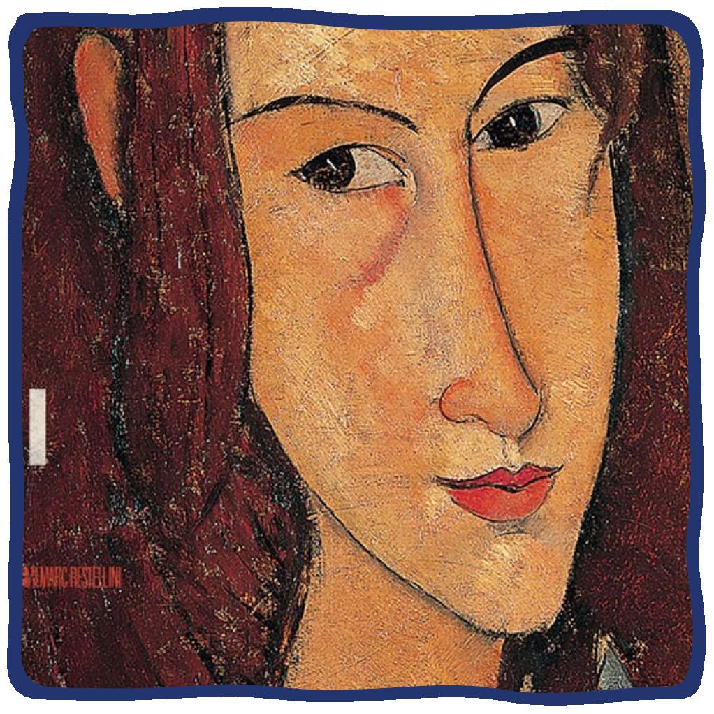 "Poster for the film ""Maverick Modigliani,"" presented at the 2021 Lenore Marwil Detroit Jewish Film Festival"