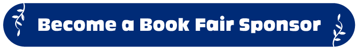 """Blue button with the text """"Become a Book Fair Sponsor"""""""