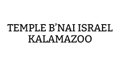 Logo for Temple B'nai Israel Kalamazoo