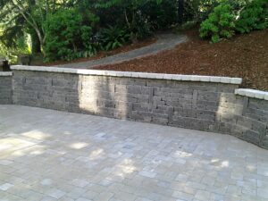 Rich Miller Landscape Patio Wall Design