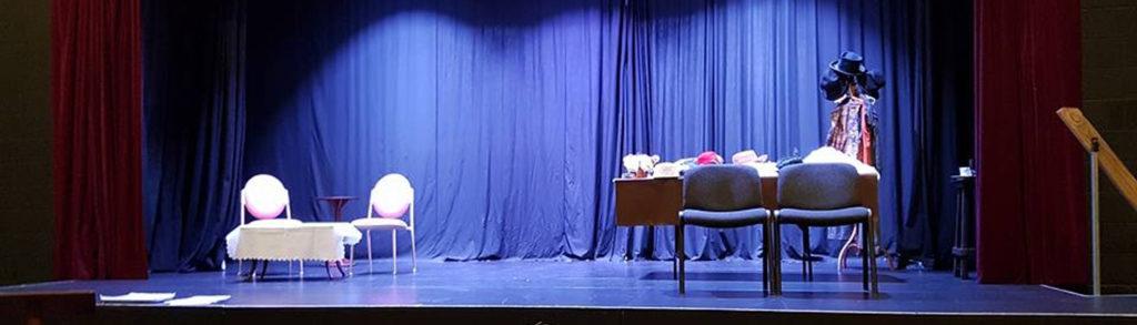 Pinnacle Playhouse stage