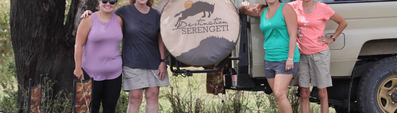 Group on safari with Destination Serengeti