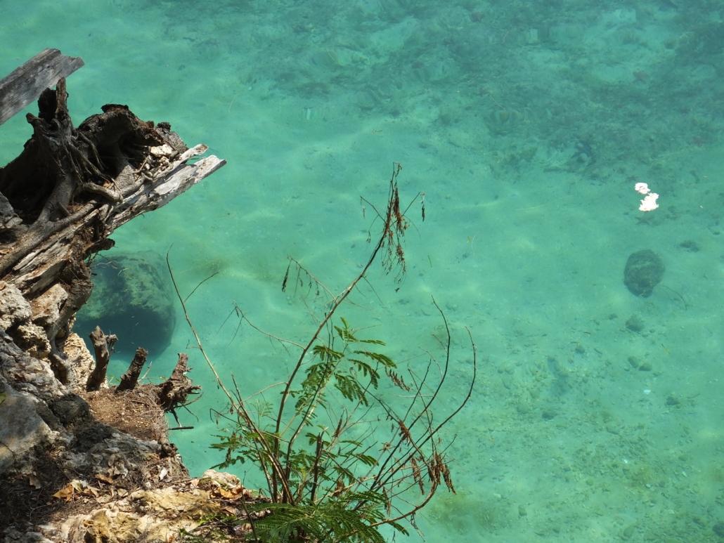 Beautiful Turqoise Zanzibar Water